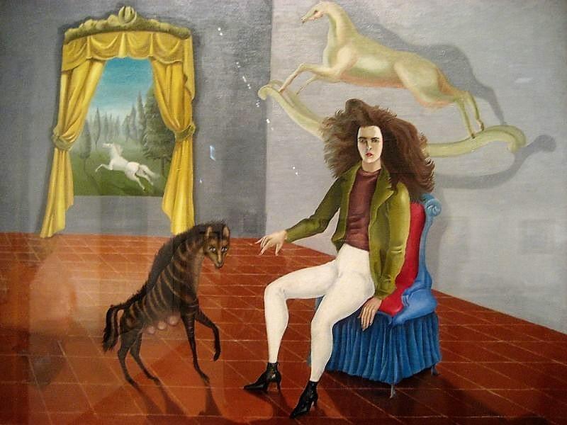 Autoritratto Leonora Carrington 1937-1938