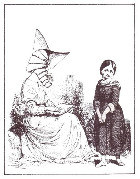 """Collage di Max Ernst per il libro """"La casa della paura"""" Leonora Carrigton 1937"""