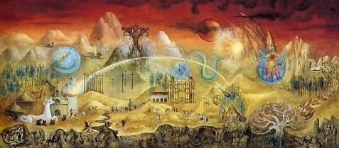 Il magico mondo dei Maya Leonora Carrington 1964