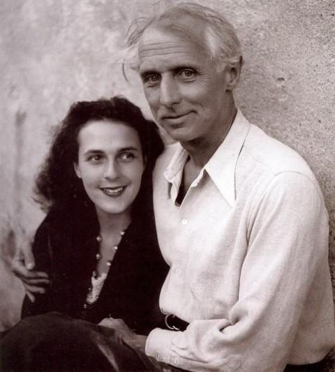 Leonora Carrington e Max Ernst a Saint Martin d'Aderdèche nel 1939 photo Lee Miller – Archivio Miller