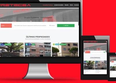 Portal inmobiliario Grupo Protecsa