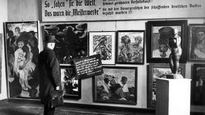 Arte Degenerado o la degradación del arte.