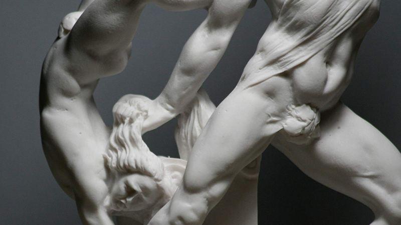 Hércules y Lica. Antonio Canova. Neoclasicismo