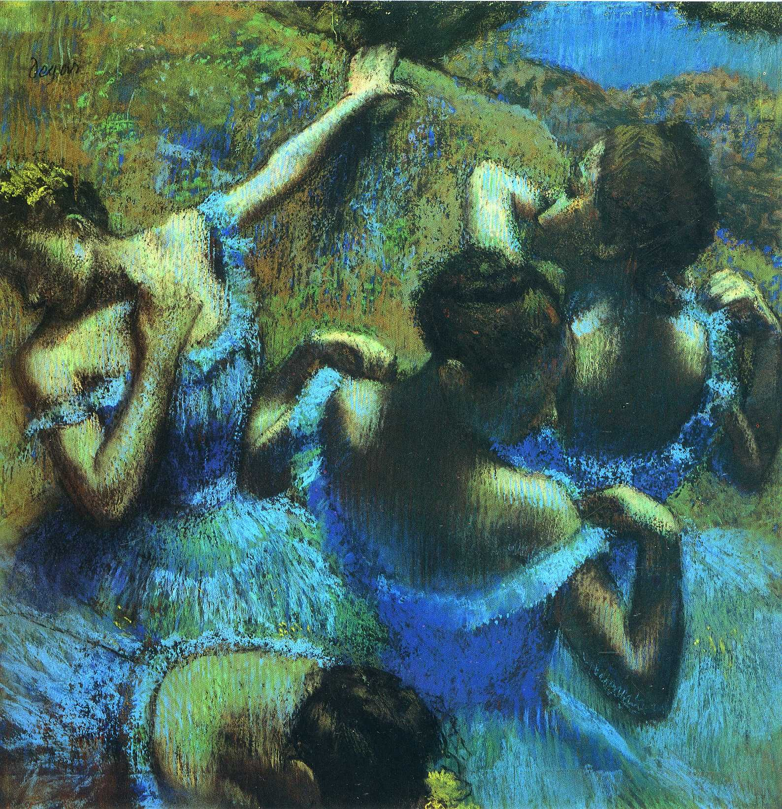 Las bailarinas de Edgar Degas. La danza en arte en movimiento.