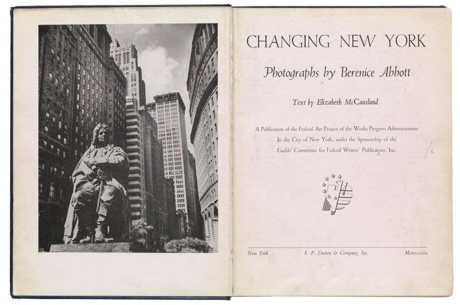 Berenice Abbott, un lobo solitario de la fotografía artística.