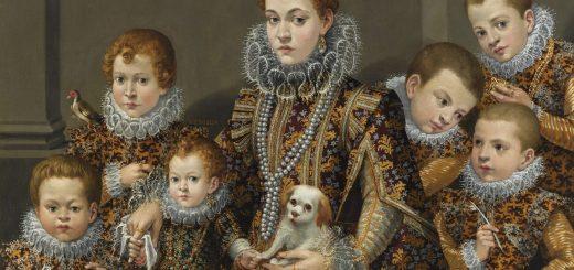 Lavinia Fontana. Pioneras en el arte.