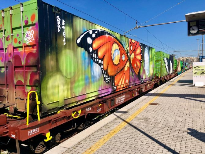 El Tren de Noé llega a Madrid