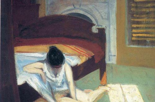 Summer Interior de Edward Hopper.