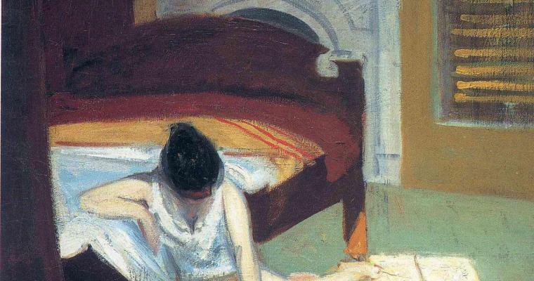 Summer Interior de Edward Hopper.