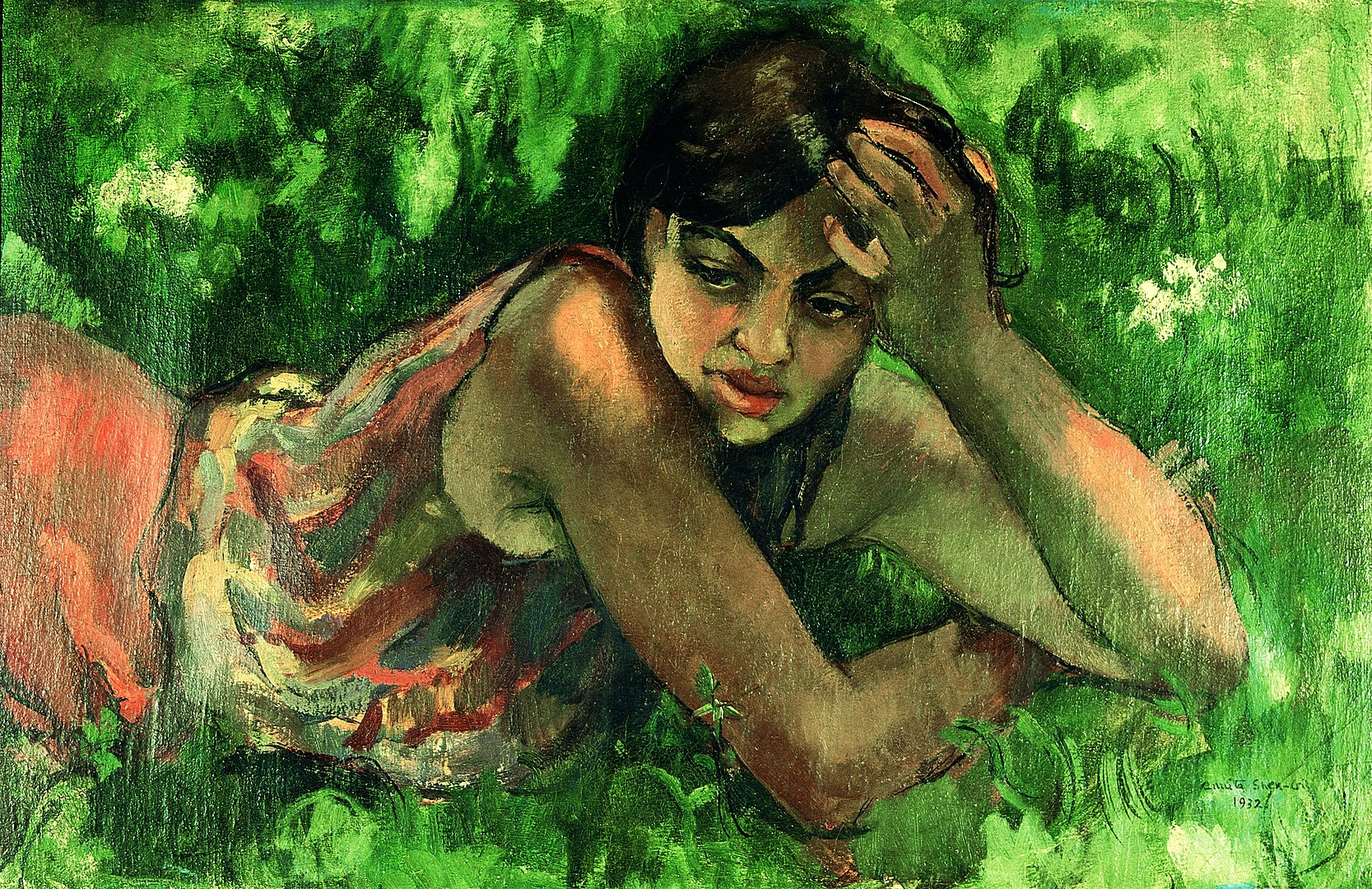 Amrita Sher-Gil, la Frida Kahlo india. «El cementerio alegre».