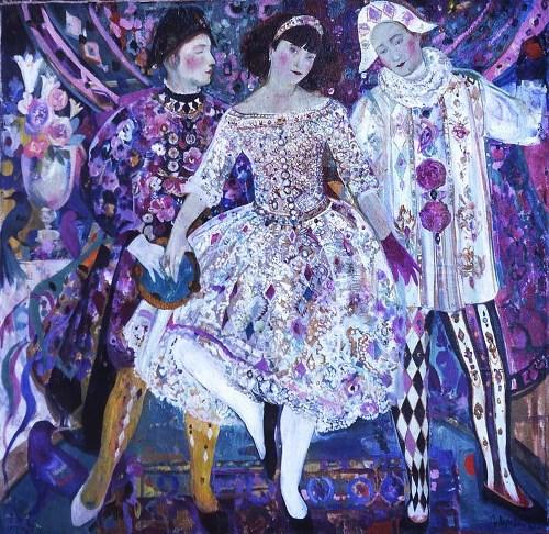 Olga Suvorova, una pintora de hoy que nos devuelve al pasado.