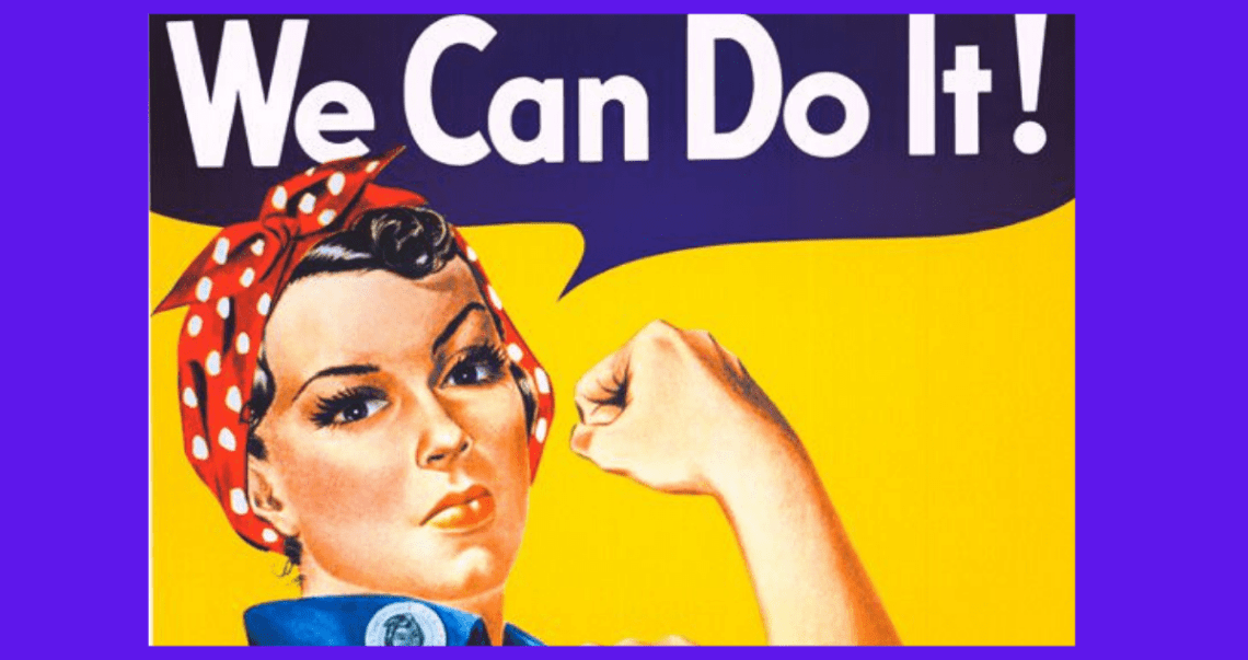 We can do it! La historia de la ilustración símbolo feminista.