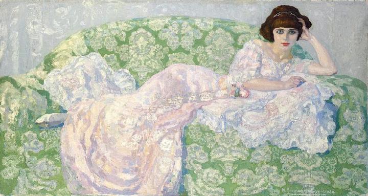 Retrato de Sonia de Klamery. La aristócrata femme fatale.