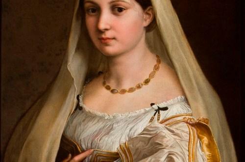 La Donna Velata de Rafael o el ideal de belleza clásico.