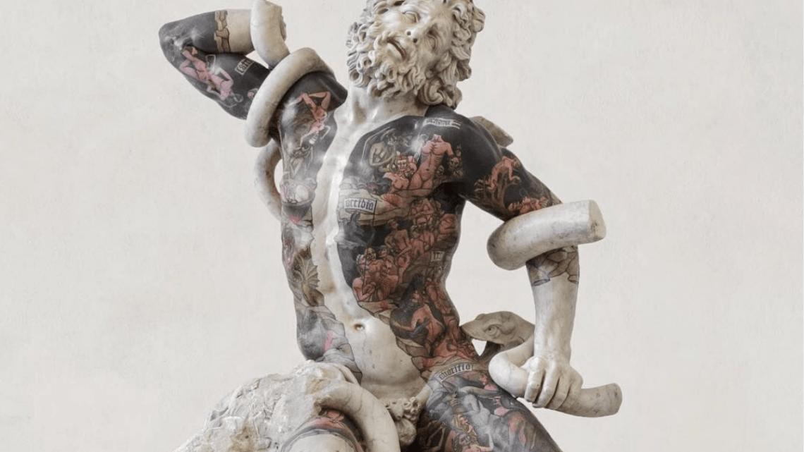 Fabio Viale, reinventando el canon clásico de la figura humana.
