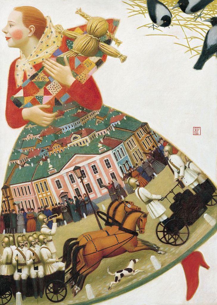 Andrey Remnev, el artista que hace lo clásico contemporáneo