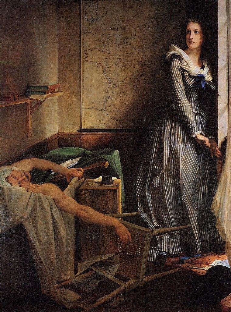 La muerte de Marat, imagen de una Revolución. Jacques-Louis David.