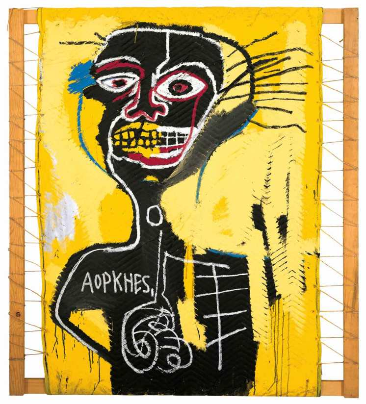 Jean Michel Basquiat, el nuevo Van Gogh de los ochenta. Basquiat