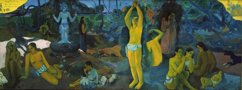 Paul Gauguin, el banquero arruinado que se hizo artista. Mata Mua