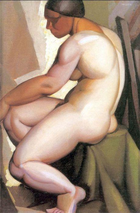 Tamara de Lempicka, la baronesa en el templo del art déco.