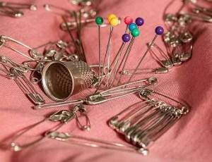 herramientas de costura - alfileres