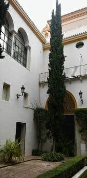 Patio de las Conchas del Museo de Bellas Artes de Sevilla