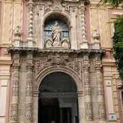 Portada del Museo de Bellas Artes de Sevilla