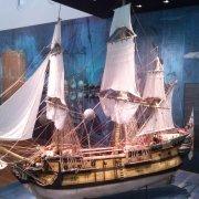 Navío de línea Nuestra Señora del Pilar - Flota de Indias de las Filipinas. Pabellón de la Navegación - Exposiciones en Sevilla (Foto: Francisco Calvo)