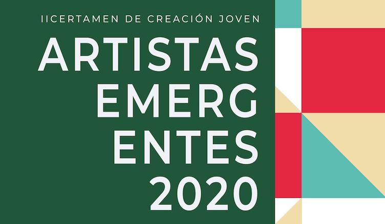 Cartel II Certamen de Creación Joven Artistas Emergentes 2020