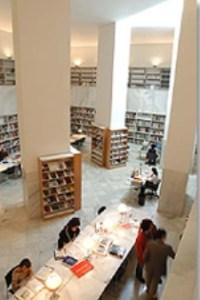 Biblioteca del Centro Andaluz del Centro Contemporáneo (Fuente: http://www.caac.es/biblio/frame.htm)