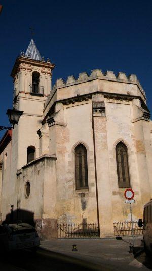 Iglesia de San Esteban. Vista desde la antigua Puerta de Carmona. Rutas para pasear por Sevilla