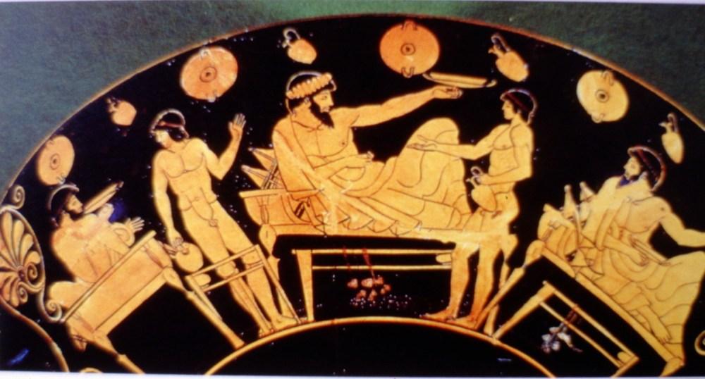 Casa en la antigua Grecia