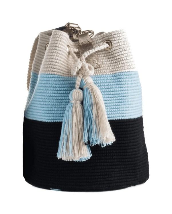 Arte y Tejido, Mochila Belle, Chorrera, Mochila, Tejida, Knitted, Crochet, Natural Fibers, Algodón, Cotton, Fibras Naturales, Bag, Belle