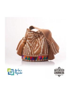 Arte y Tejido, Mochila Borneo, Chorrera, Mochila, Tejida, Knitted, Crochet, Natural Fibers, Algodón, Cotton, Fibras Naturales, Bag, Borneo
