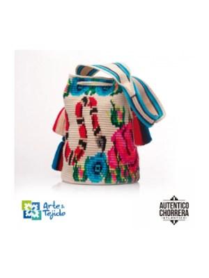 Arte y Tejido, Mochila Cascu, Chorrera, Mochila, Tejida, Knitted, Crochet, Natural Fibers, Algodón, Cotton, Fibras Naturales, Bag, Cascu
