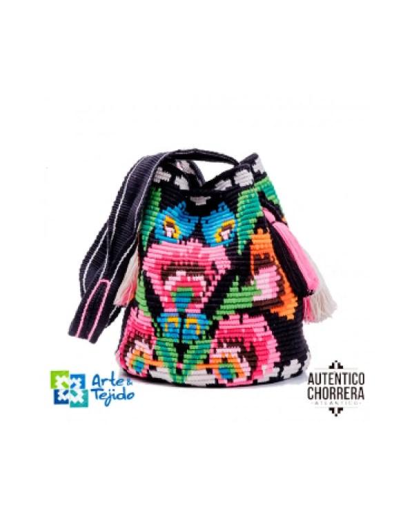 Arte y Tejido, Mochila Chuku, Chorrera, Mochila, Tejida, Knitted, Crochet, Natural Fibers, Algodón, Cotton, Fibras Naturales, Bag, Chuku