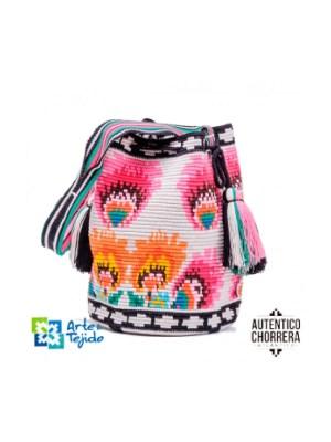 Arte y Tejido, Mochila Colima, Chorrera, Mochila, Tejida, Knitted, Crochet, Natural Fibers, Algodón, Cotton, Fibras Naturales, Bag, Colima