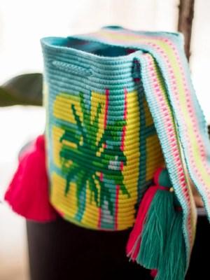 Arte y Tejido, Chorrera, Mochila, Tejida, Knitted, Crochet, Natural Fibers, Algodón, Cotton, Fibras Naturales, Bag, Collins, Mochila Collins