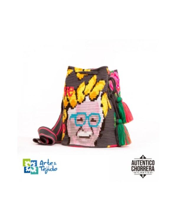 Arte y Tejido, Mochila Doña Blanca, Chorrera, Mochila, Tejida, Knitted, Crochet, Natural Fibers, Algodón, Cotton, Fibras Naturales, Bag, Doña Blanca
