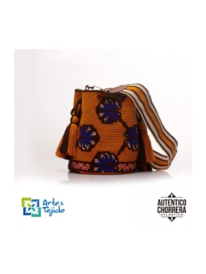 Arte y Tejido, Mochila Dots, Chorrera, Mochila, Tejida, Knitted, Crochet, Natural Fibers, Algodón, Cotton, Fibras Naturales, Bag, Dots