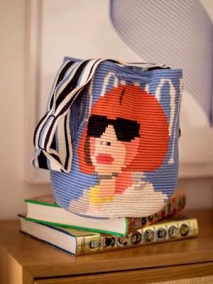 Arte y Tejido, Chorrera, Mochila, Tejida, Knitted, Crochet, Natural Fibers, Algodón, Cotton, Fibras Naturales, Bag, Fashiony, Mochila Fashiony