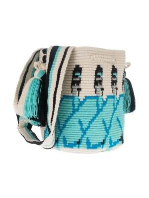 Arte y Tejido, Chorrera, Mochila, Tejida, Knitted, Crochet, Natural Fibers, Algodón, Cotton, Fibras Naturales, Bag, Gala, Mochila Gala