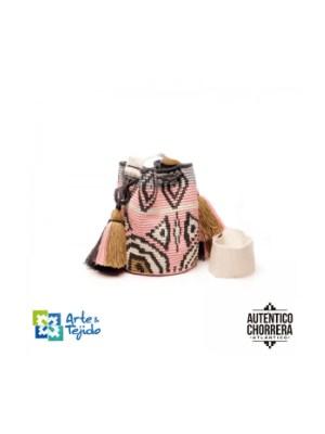Arte y Tejido, Mochila Himba, Chorrera, Mochila, Tejida, Knitted, Crochet, Natural Fibers, Algodón, Cotton, Fibras Naturales, Bag, Himba