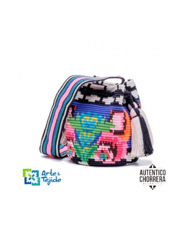 Arte y Tejido, Mochila Ikal, Chorrera, Mochila, Tejida, Knitted, Crochet, Natural Fibers, Algodón, Cotton, Fibras Naturales, Bag, Ikal