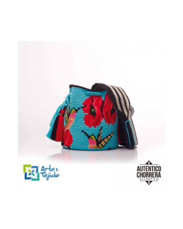 Arte y Tejido, Mochila Kamu, Chorrera, Mochila, Tejida, Knitted, Crochet, Natural Fibers, Algodón, Cotton, Fibras Naturales, Bag, Kamu