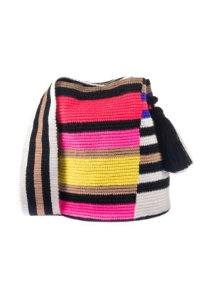 Arte y Tejido, Mochila Kuala, Chorrera, Mochila, Tejida, Knitted, Crochet, Natural Fibers, Algodón, Cotton, Fibras Naturales, Bag, Kuala