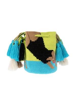 Arte y Tejido, Chorrera, Mochila, Tejida, Knitted, Crochet, Natural Fibers, Algodón, Cotton, Fibras Naturales, Bag, Lanikai, Mochila Lanikai