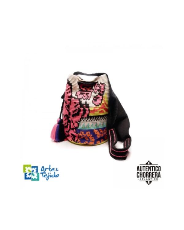 Arte y Tejido, Mochila Masawa, Chorrera, Mochila, Tejida, Knitted, Crochet, Natural Fibers, Algodón, Cotton, Fibras Naturales, Bag, Masawa