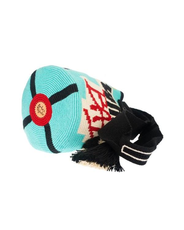 Arte y Tejido, Mochila Michael, Chorrera, Mochila, Tejida, Knitted, Crochet, Natural Fibers, Algodón, Cotton, Fibras Naturales, Bag, Michael, Frenesí