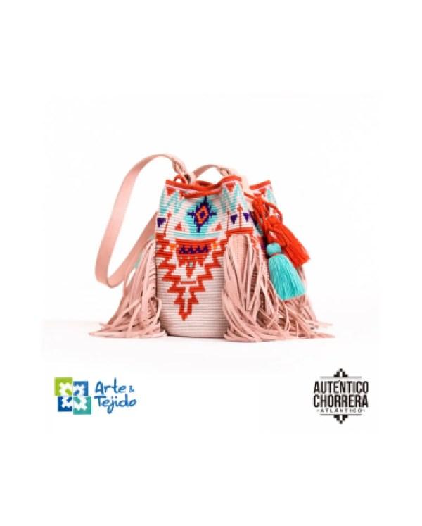 Arte y Tejido, Mochila Modoc, Chorrera, Mochila, Tejida, Knitted, Crochet, Natural Fibers, Algodón, Cotton, Fibras Naturales, Bag, Modoc